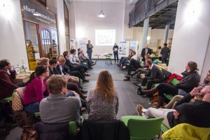 Netzwerkeformate für Unternehmer beim 8. GuUt - Infozentrum GSS 126