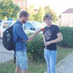 Interviews mit Radio Blau / MDR Sachsen