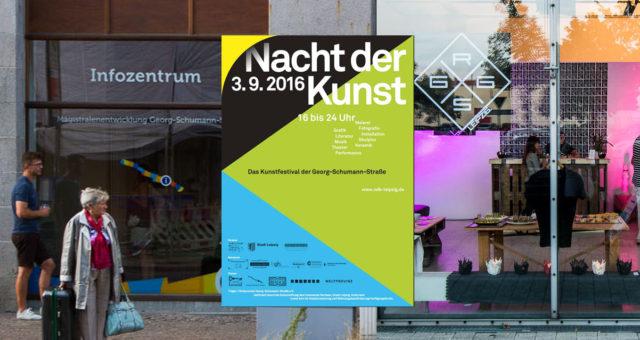 Voller Erfolg für die Georg-Schumann-Straße bei der Nacht der Kunst 2016