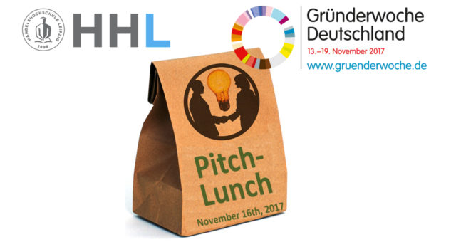 Get in Touch beim Pitch-Lunch in der Gründerwoche