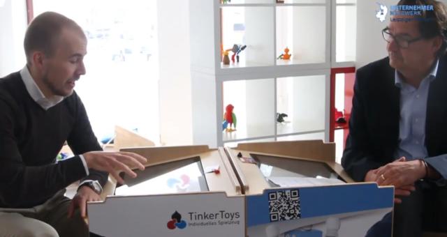 Tinker Toys bringt Kindern 3D-Druck nahe