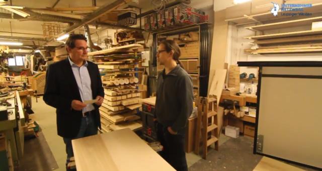 Tischlermeister Richard Wintermann – Co-Woodworking in Lindenau
