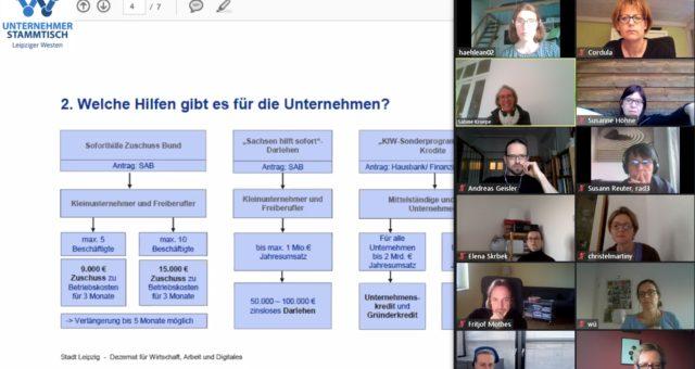 Videokonferenz: 53. U-Stammtisch online